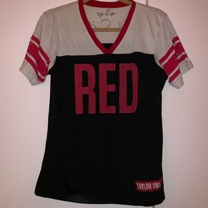 """Taylor Swift """"Red"""" shirt"""